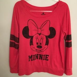 Disney Parks Minnie Mouse Pullover Top